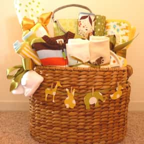 Baby Shower is listed (or ranked) 15 on the list Fun Gift Basket Ideas