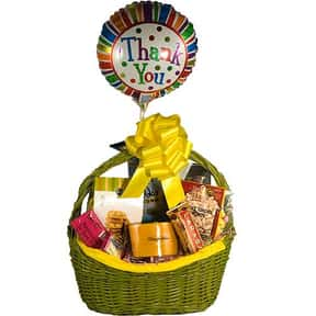 Thank You is listed (or ranked) 19 on the list Fun Gift Basket Ideas
