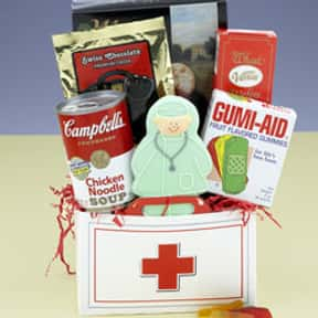 Get Well Soon is listed (or ranked) 20 on the list Fun Gift Basket Ideas