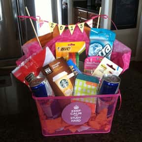 Off To College is listed (or ranked) 25 on the list Fun Gift Basket Ideas