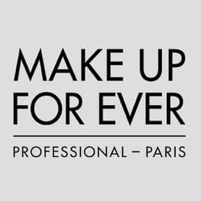 Make Up For Ever is listed (or ranked) 12 on the list The Best Cosmetic Brands