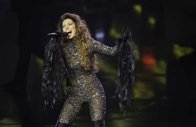 Shania Twain Now is listed (or ranked) 4 on the list The Most Famous 90s Popstars (Then and Now)