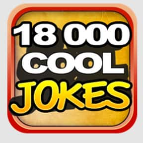 18,000 Cool Jokes is listed (or ranked) 9 on the list The Funniest Apps For Your Smartphone
