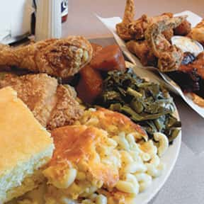 Southern American Food is listed (or ranked) 17 on the list Your Favorite Types of Cuisine
