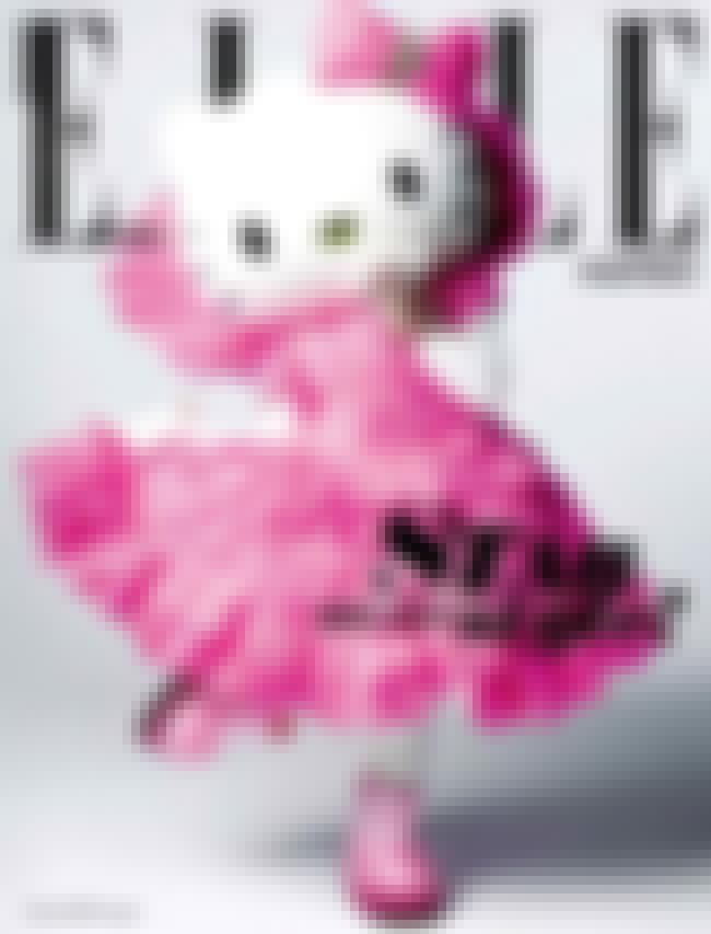 Hello Kitty On Cover of Elle is listed (or ranked) 2 on the list The Best Random Pics Paying Homage to Hello Kitty
