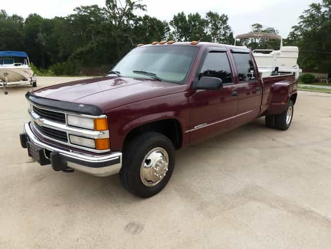 1997 Chevrolet Silverado 3500 is listed (or ranked) 1 on the list The Best Chevrolet Silverados of All Time