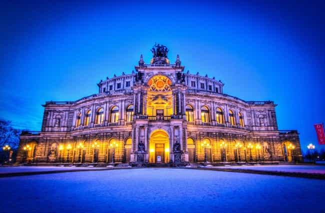 Semperoper is listed (or ranked) 3 on the list The Most Beautiful Buildings in the World