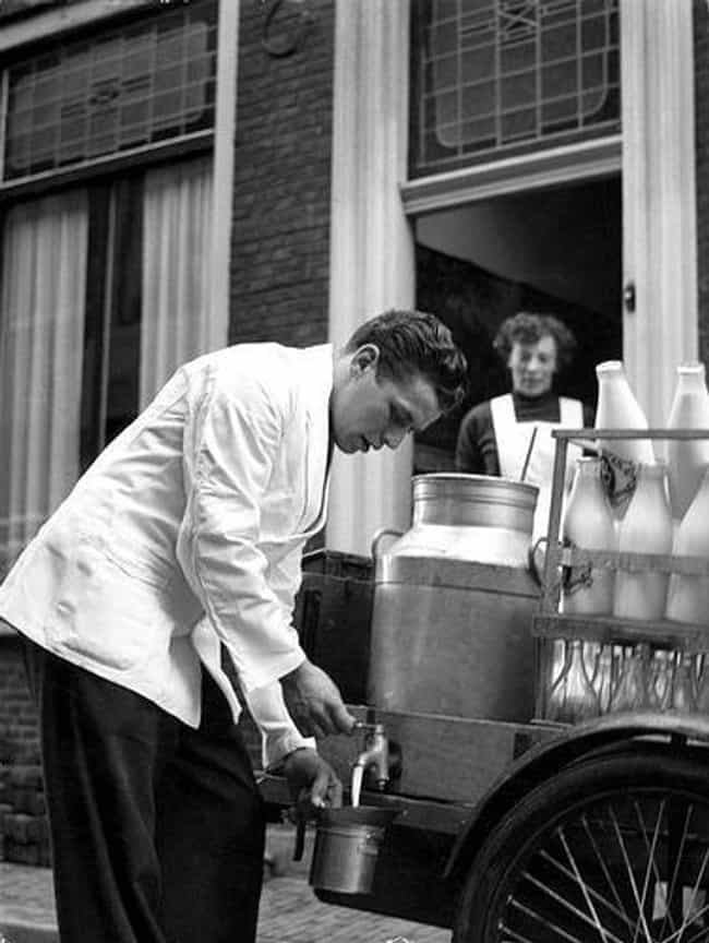 Milkman is listed (or ranked) 4 on the list Jobs That No Longer Exist