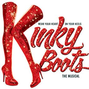 Kinky Boots (2012) is listed (or ranked) 15 on the list The Best Musicals Based on Movies
