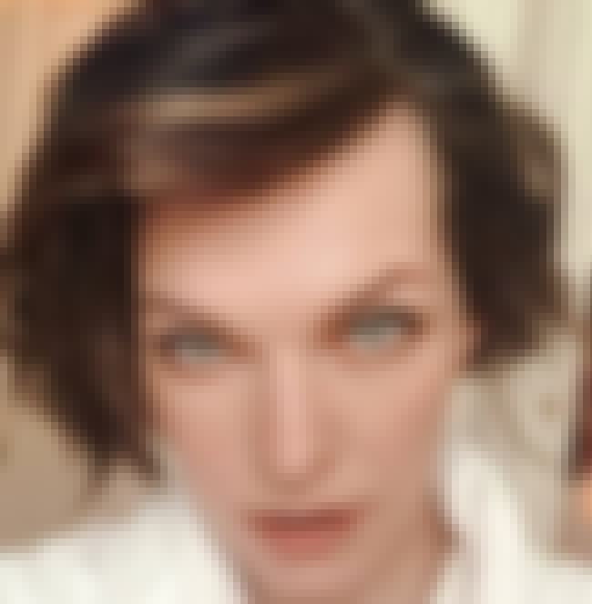 Milla Jovovich is listed (or ranked) 1 on the list The Most Interesting Androgynous Faces