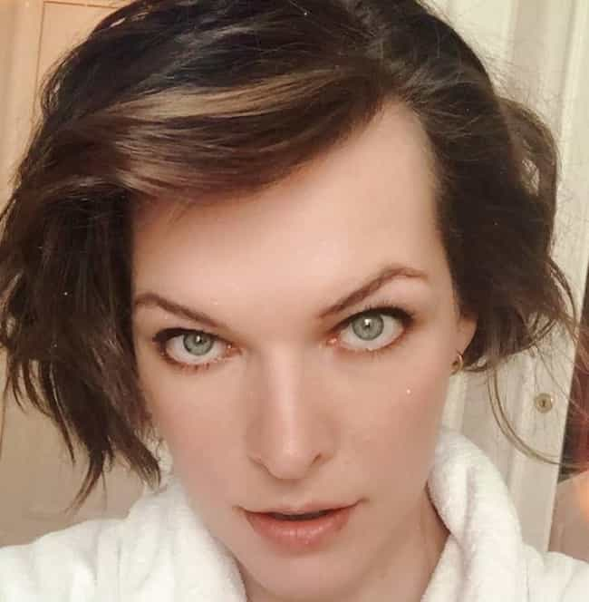 Milla Jovovich is listed (or ranked) 3 on the list The Most Interesting Androgynous Faces