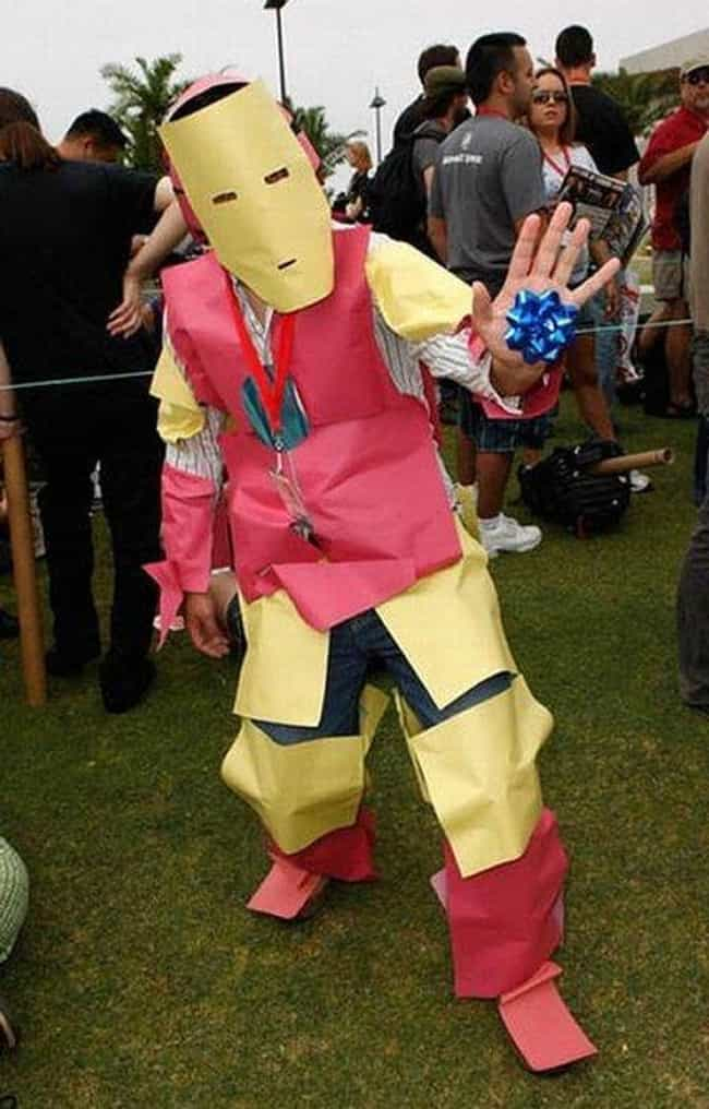 Iron Man Is Listed Or Ranked 4 On The List Worst Cosplay Of