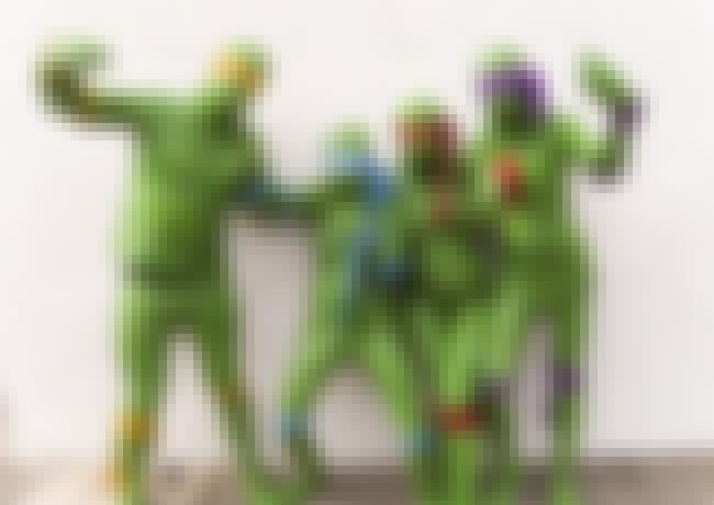 Ninja Turtles is listed (or ranked) 2 on the list The Worst Cosplay of All Time