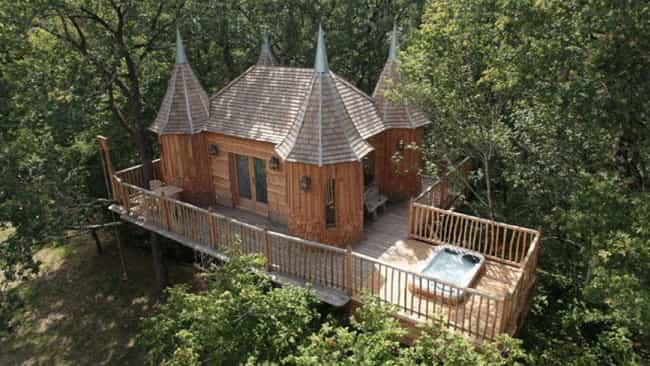 The Coolest Treehouses In The World