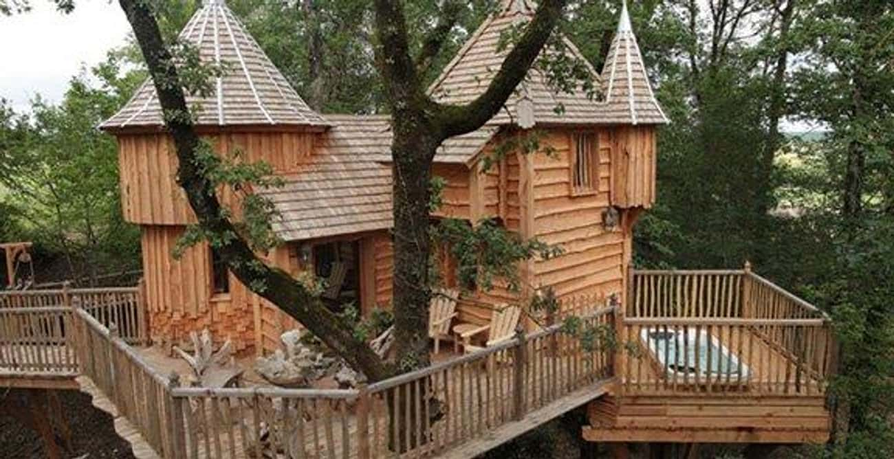 Italian Treehouse Resort is listed (or ranked) 1 on the list The Coolest Treehouses in the World