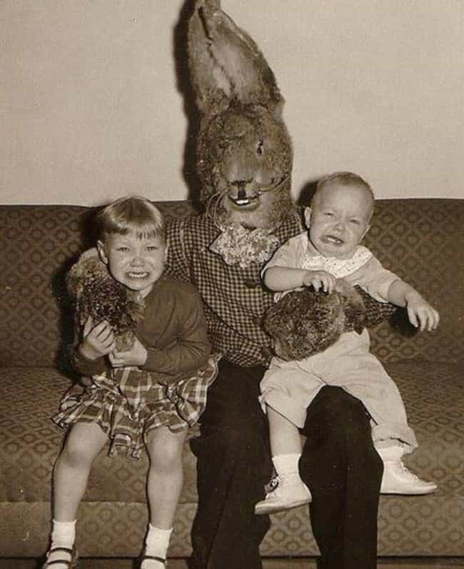 And I Never Recovered is listed (or ranked) 1 on the list Funny Pics of Kids Crying With the Easter Bunny