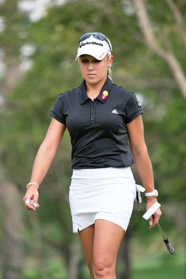 Natalie Gulbis is listed (or ranked) 2 on the list The Bustiest Athletes That Make You Love Sports
