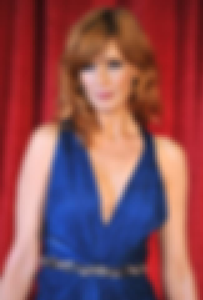 Kelly Reilly in a Blue V-Neck ... is listed (or ranked) 3 on the list Hottest Kelly Reilly Photos