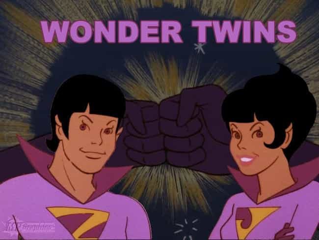 The Wonder Twins is listed (or ranked) 4 on the list The Worst Twins In Human History (And Fiction)
