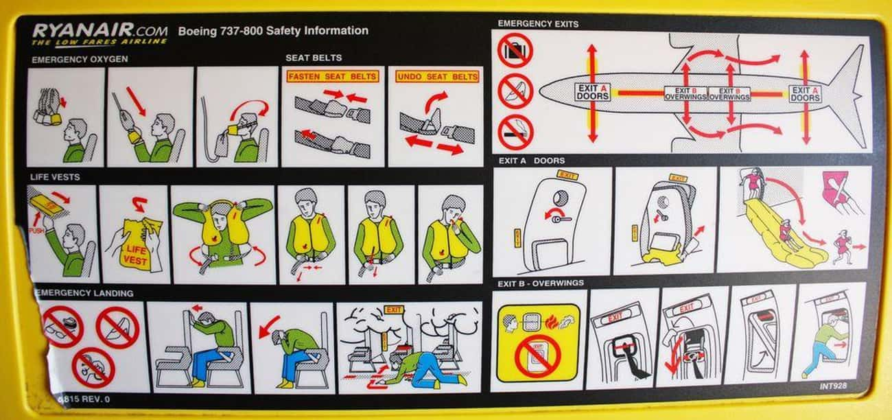 People Steal the Under-Seat Li is listed (or ranked) 1 on the list 18 Dirty Facts About Flying Airlines Don't Want You to Know