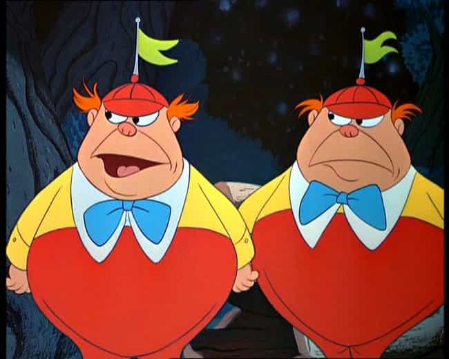 Tweedledee and Tweedledu... is listed (or ranked) 3 on the list The Worst Twins In Human History (And Fiction)