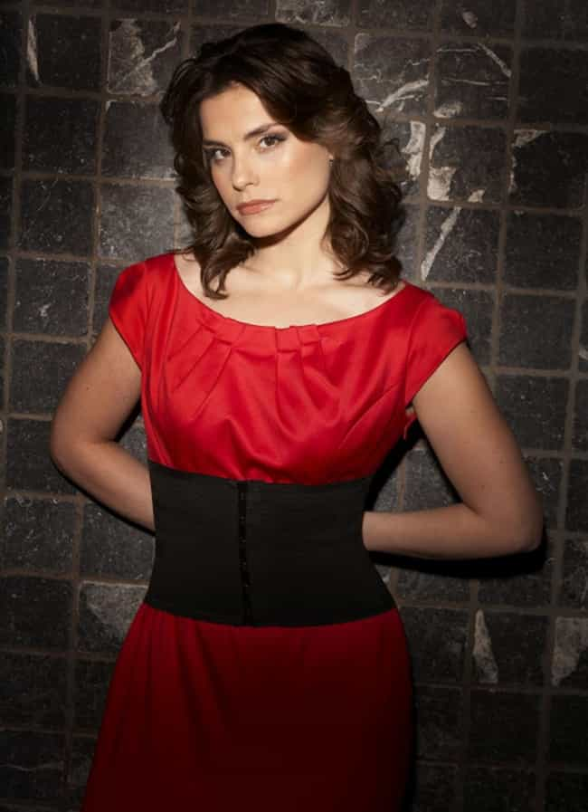 Charlotte Riley in a Red and B... is listed (or ranked) 5 on the list The Most Stunning Charlotte Riley Photos