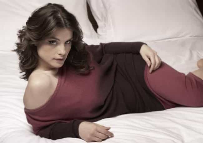 Charlotte Riley in a Red Sweat... is listed (or ranked) 3 on the list The Most Stunning Charlotte Riley Photos