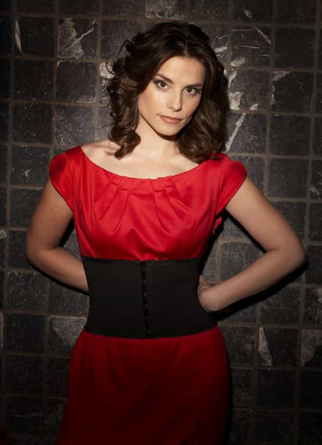 Charlotte Riley in a Red Belte... is listed (or ranked) 7 on the list The Most Stunning Charlotte Riley Photos