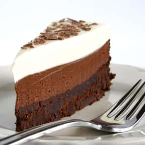 Chocolate Mousse Cake is listed (or ranked) 4 on the list Every Single Type of Cake, Ranked by Deliciousness
