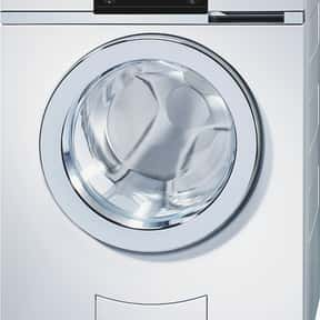V-zug is listed (or ranked) 17 on the list The Best Washing Machine Brands