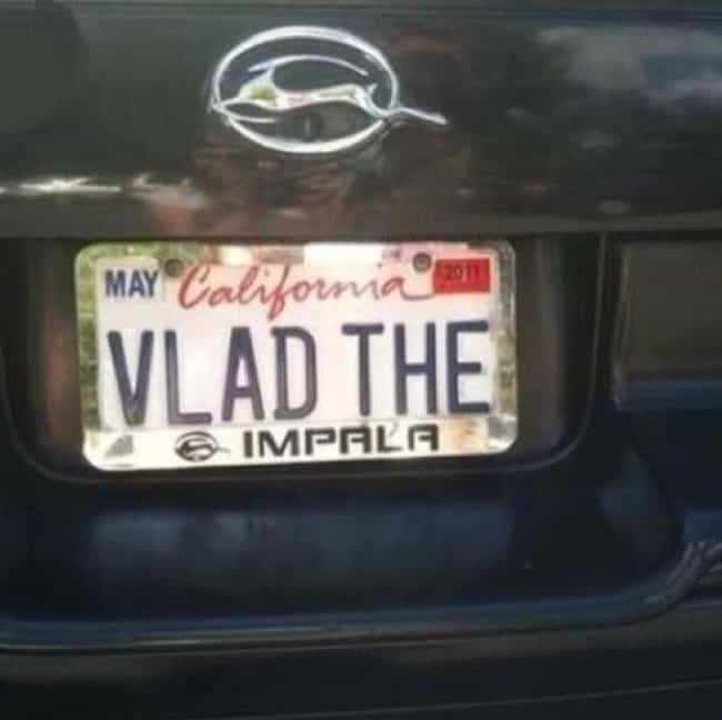 He Lives! is listed (or ranked) 3 on the list 34 Hilarious Custom License Plates