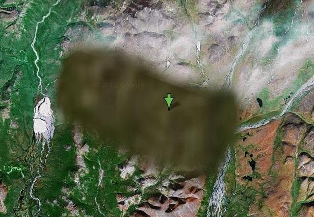 Image of Random Places That Google Earth Won't Let You See