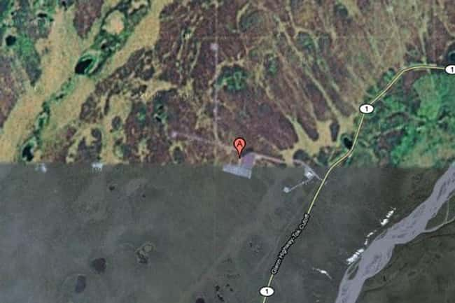 HAARP Site, Gakona, Alaska is listed (or ranked) 22 on the list Google Earth Won't Let You See These 25 Places