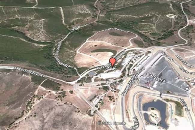 Mazda Raceway Laguna Seca, Sal is listed (or ranked) 20 on the list Google Earth Won't Let You See These 25 Places