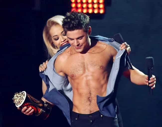 Zac Efron at the 2014 MTV Movi... is listed (or ranked) 3 on the list Hot Zac Efron Photos