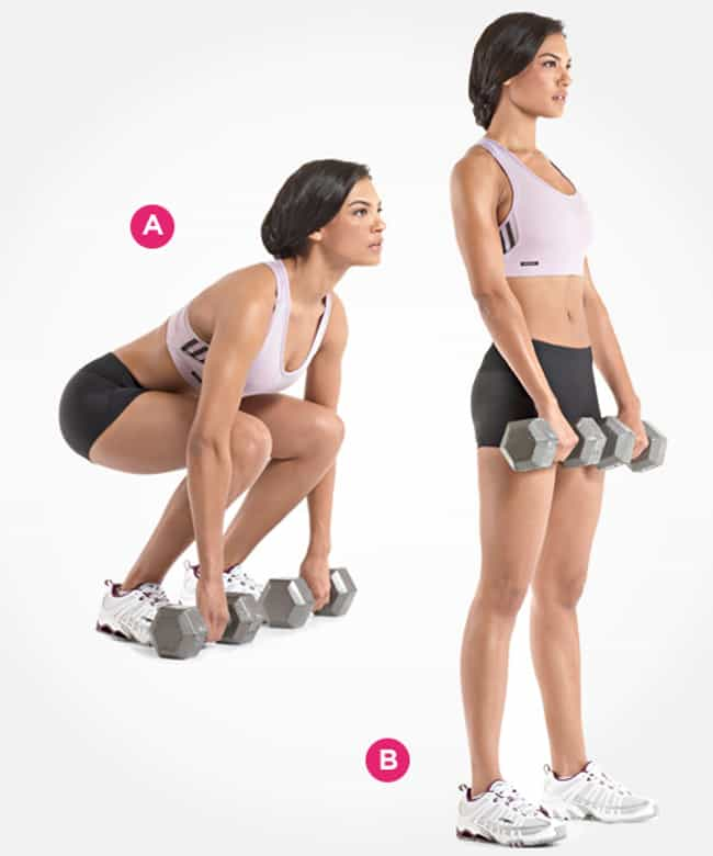 Dumbell Deadlift is listed (or ranked) 3 on the list The Best Exercises for Your Butt