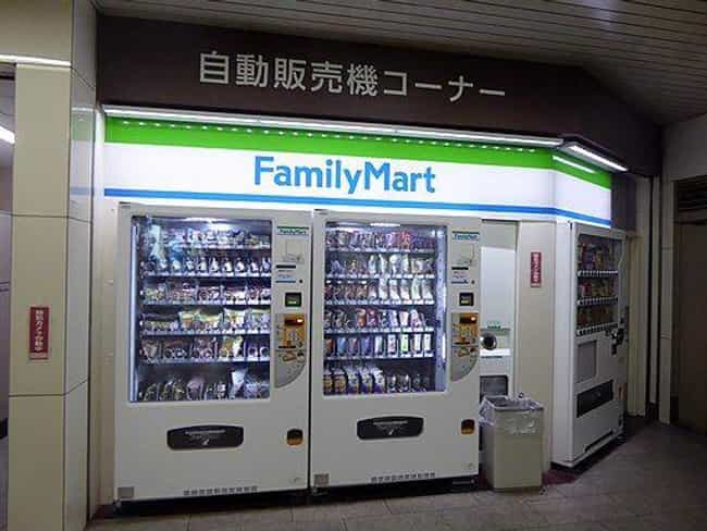 Convenience Store is listed (or ranked) 2 on the list Insane Vending Machines You Didn't Know You Needed