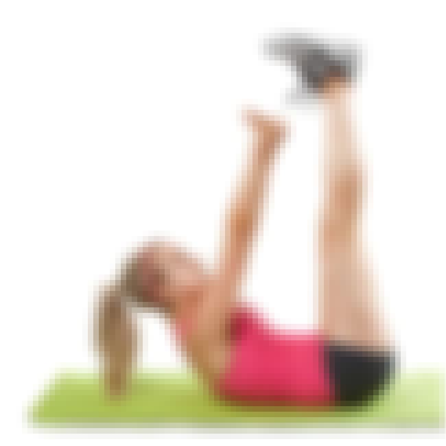 Vertical Leg Crunch is listed (or ranked) 1 on the list The Best Exercises for Your Abs