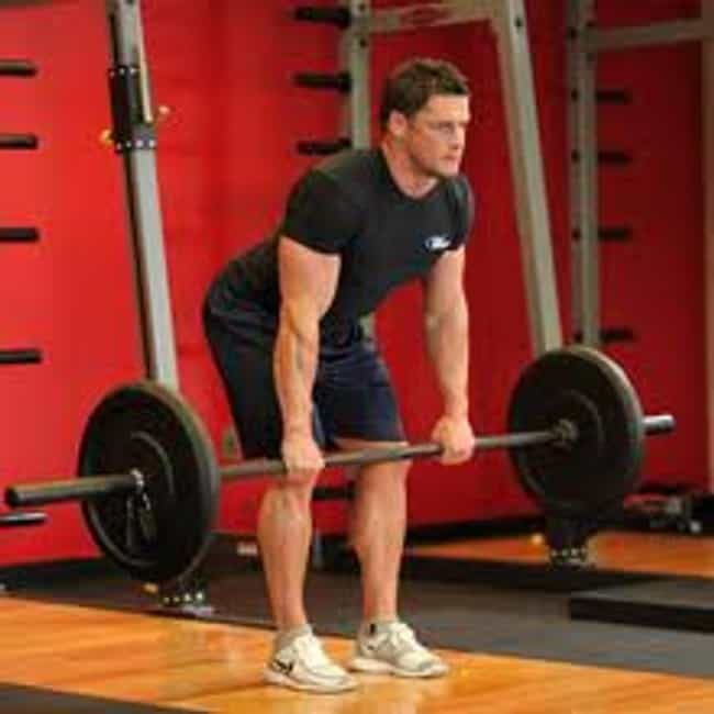 Bent Over Barbell Rows is listed (or ranked) 2 on the list The Best Exercises for Your Back