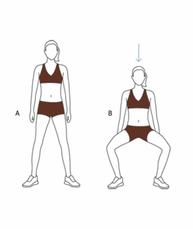 Wide-Stance Squat is listed (or ranked) 1 on the list The Best Exercises for Your Thighs