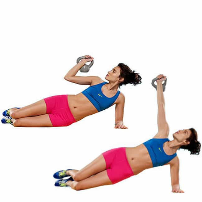 Get-Up Plank is listed (or ranked) 3 on the list The Best Exercises for Your Arms