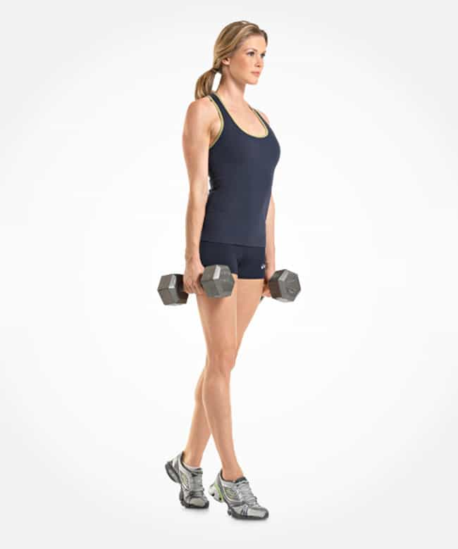 Farmer's Walk On Toes is listed (or ranked) 4 on the list The Best Exercises for Your Legs