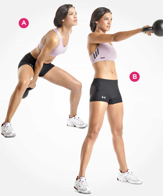 Single-Arm Kettlebell Swing is listed (or ranked) 3 on the list The Best Exercises for Your Legs