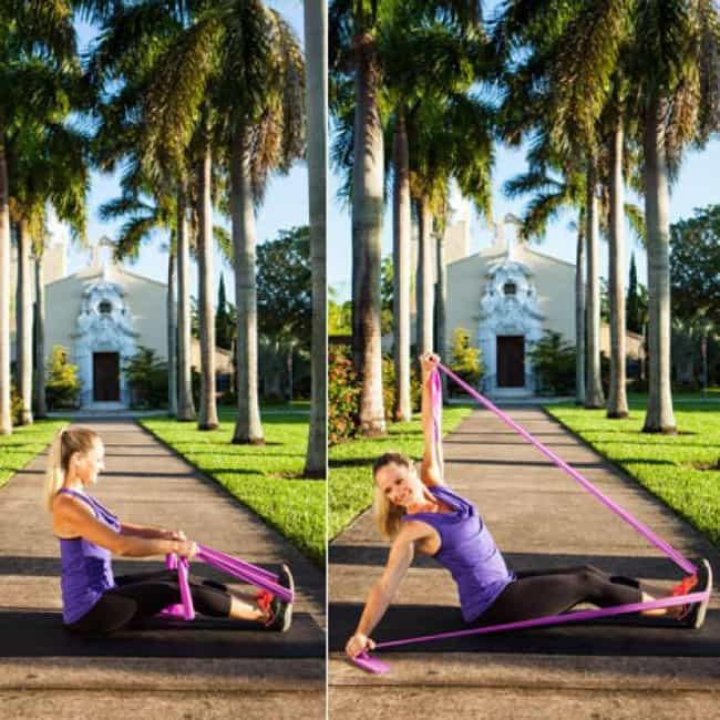 Leaning Twist is listed (or ranked) 4 on the list The Best Exercises To Do With Resistance Bands