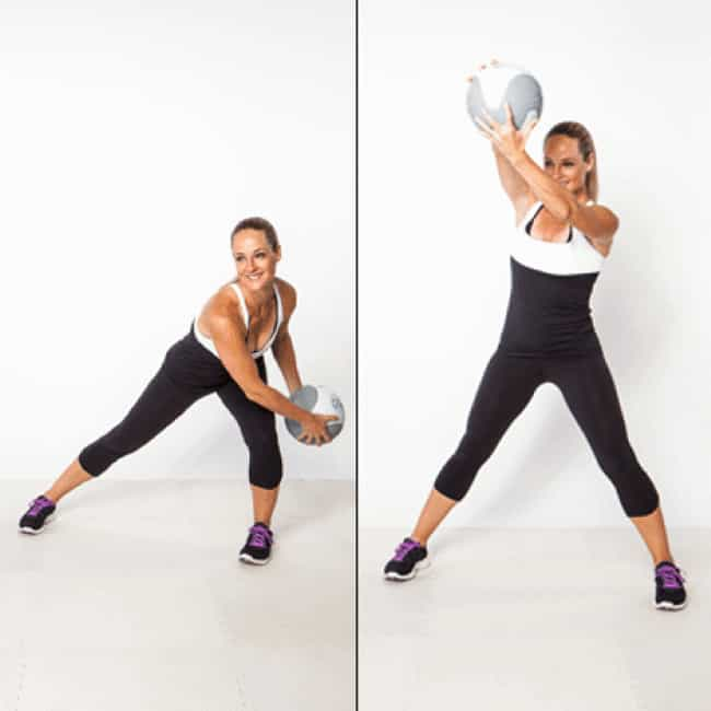 Figure-8 Scoop is listed (or ranked) 2 on the list The Best Exercises To Do With a Medicine Ball