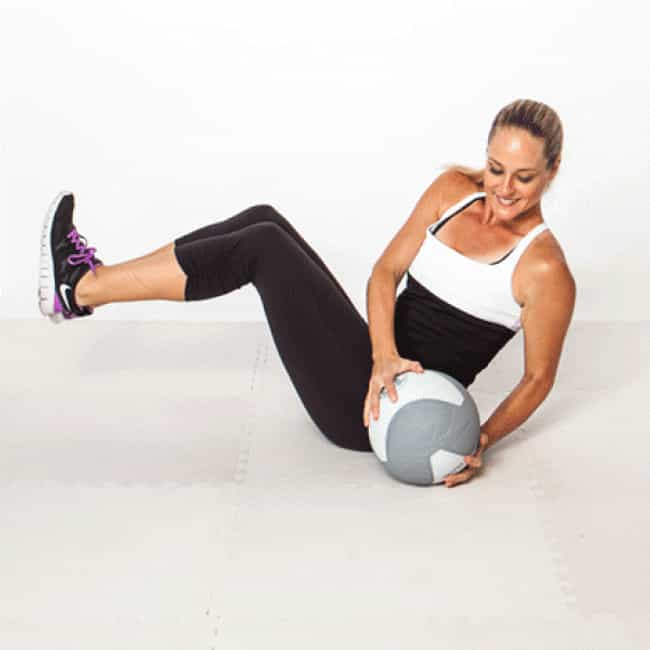 Side-to-Side Slam is listed (or ranked) 1 on the list The Best Exercises To Do With a Medicine Ball