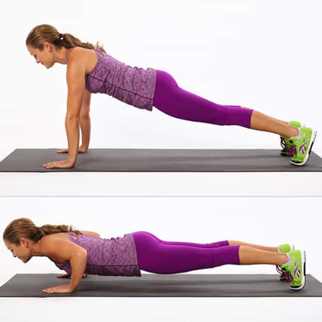 Push Ups is listed (or ranked) 1 on the list The Best Exercises You Can Do Without Any Equipment