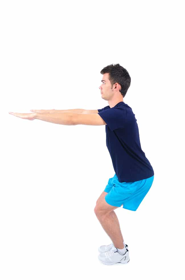 Squats is listed (or ranked) 2 on the list The Best Exercises You Can Do Without Any Equipment