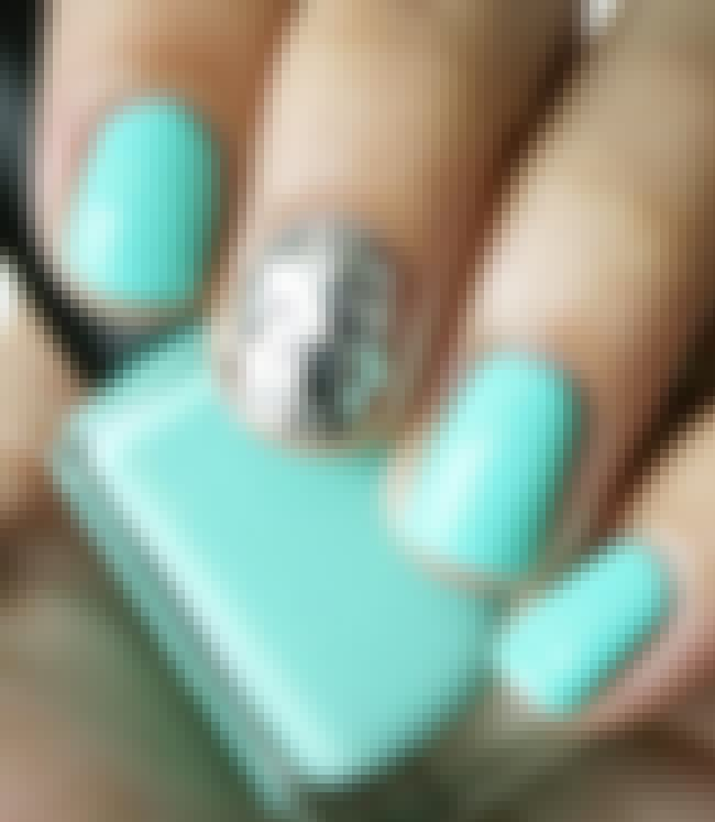 Mint is listed (or ranked) 4 on the list The Top 10 Nail Polish Colors Spring 2014