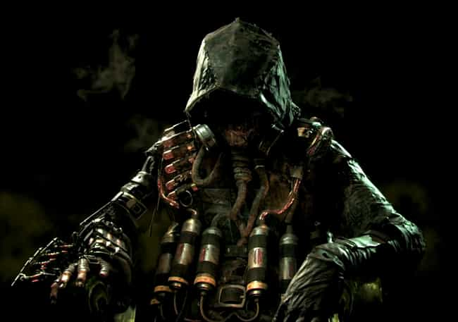 Scarecrow is listed (or ranked) 3 on the list The Best Characters from the Batman: Arkham Games